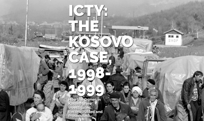 ICTY: The Kosovo Case, 1998-1999