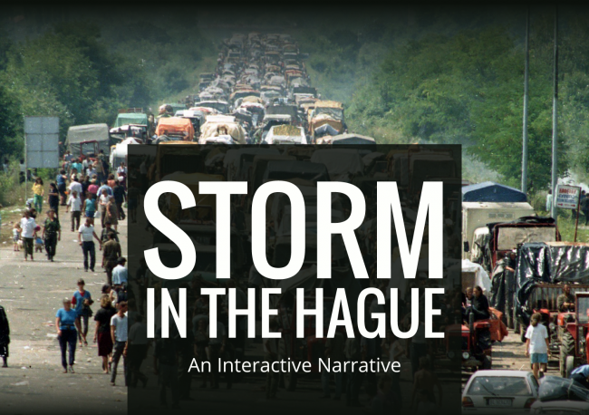 Interactive narrative: Storm in the Hague