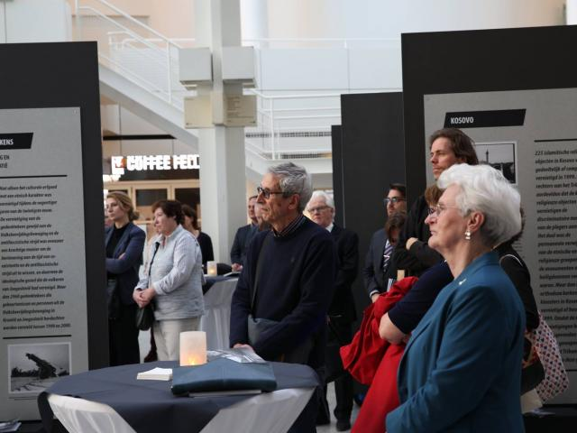 Exhibition Targeting Monument opened in The Hague City Hall
