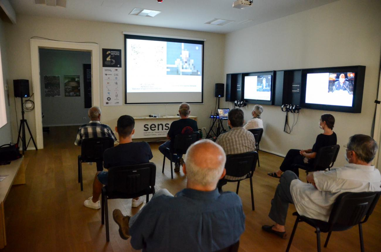 Day three of the campaign Srebrenica 25: Together Against the Denial Virus