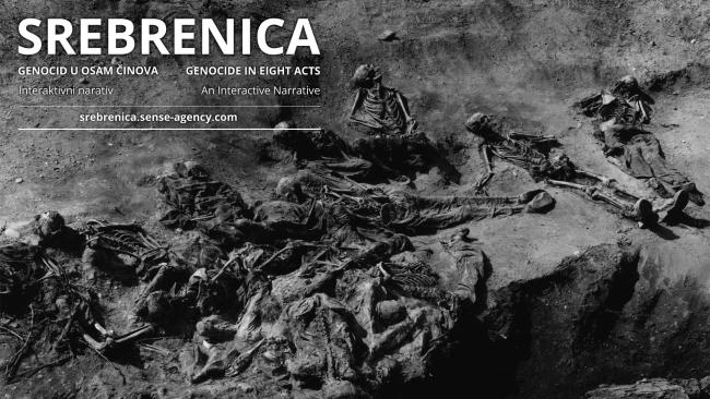 Interactive narrative: Srebrenica